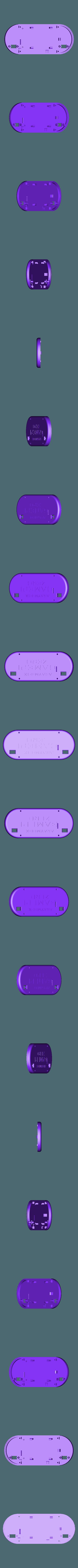 GamePi_Zero_Case_Back.stl Download free STL file GamePi Zero • 3D printer template, araymbox