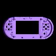 GamePi_Zero_Case_Front.stl Download free STL file GamePi Zero • 3D printer template, araymbox