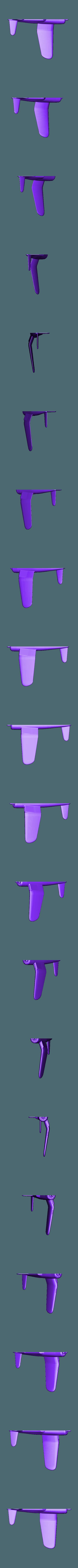 demi_F4U_droit_HD.STL Download STL file F4U Corsair • 3D printing model, 3Dmodeling