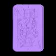 Portrait Roi de Coeur.stl Download STL file King of Hearts Frame • 3D printable design, conceptify