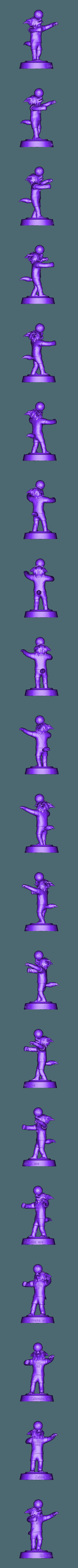 Zabivaka_mascot_2018.obj Download OBJ file Zabivaka World Cup 2018 Mascot • 3D printer template, NoEvil116