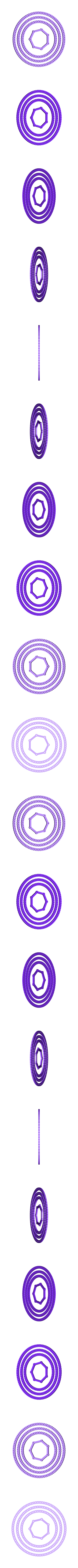 concentric rings.stl Download STL file Modular Mobile System • 3D printable template, jasso