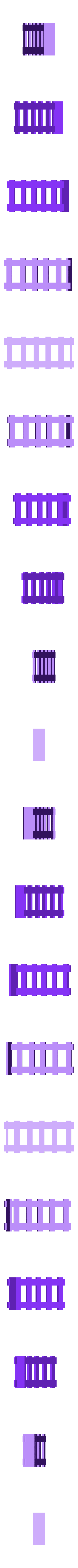 Modular_Ladder.stl Download free STL file Modular Mech Buildings • 3D printable object, mrhers2