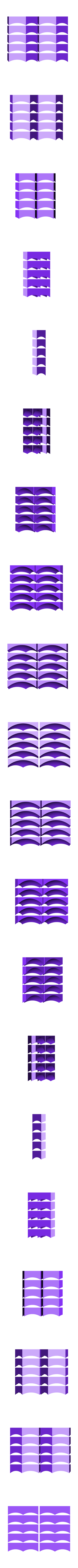 Prusa Reception_Dominik Cisar_Hexagon Tile Half 10x.stl Download free STL file Prusa Reception Tiles - PrusaLab • 3D print model, cisardom