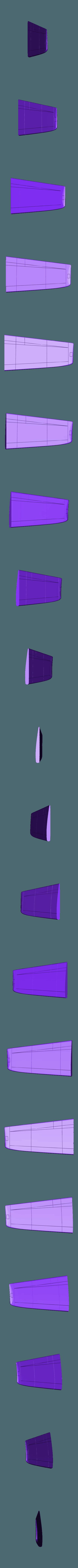 alaizquierda.stl Download STL file IA-63 Pampa • 3D print object, Nico_3D