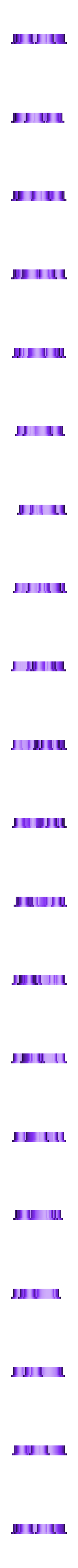 Сutting .stl Download STL file UNICORN - COOKIE CUTTER • 3D printer object, dmitriysk3d