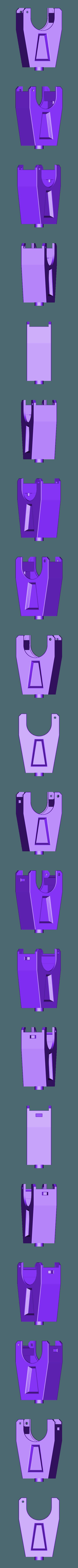 sinar-tripod-mount-(v1.7chmf)-pillar.stl Download STL file Sinar rail clamp (camera/tripod support) & F1 repairs • 3D printing object, vintage-lens