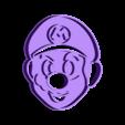 Mario Bros.stl Download STL file Mario Bros. Luigi and Yoshi cookie cutter • 3D printing model, Chapu