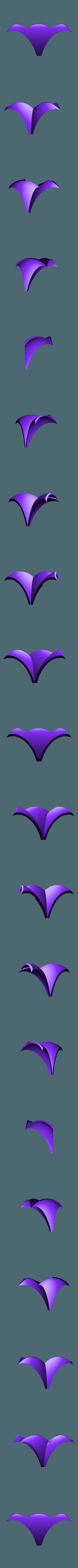 roof_part.stl Download free STL file Little Bird Feeder Air Temple • 3D printer model, Job