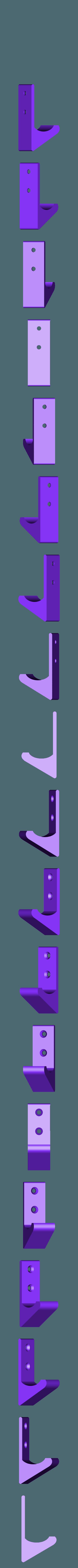 WandHaken.stl Download free STL file Wall Hook (customizable) • Model to 3D print, dede67