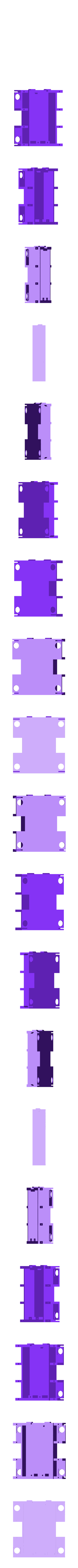 m-body_base.stl Download free STL file Ez Arduino Spidey - 12 DOF Quadruped Robot • 3D printing object, manic-3d-print