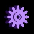 Gear_Servo.stl Download free STL file Lady Buggy • 3D printer object, gzumwalt