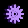 Gear_Servo.stl Download free STL file Santa's Sleigh • 3D printable template, gzumwalt