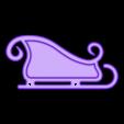 Sleigh_Right.stl Download free STL file Santa's Sleigh • 3D printable template, gzumwalt