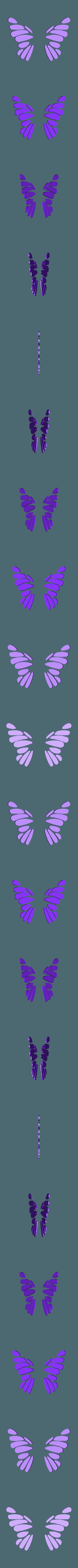 Wings_Infill.stl Download free STL file Butterfly • 3D printer model, gzumwalt