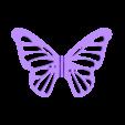 Wings.stl Download free STL file Butterfly • 3D printer model, gzumwalt