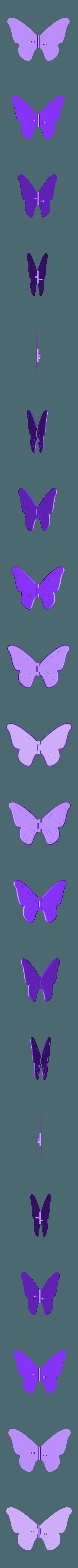 Wings_Indented.stl Download free STL file Butterfly • 3D printer model, gzumwalt
