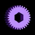 Gear_Wheel_Body_30_teeth.stl Download free STL file Hummingbird • 3D printing model, gzumwalt
