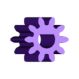 Gear_Motor_10_teeth.stl Download free STL file Hummingbird • 3D printing model, gzumwalt