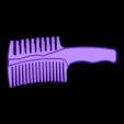 peinilla.stl Download STL file comb • 3D printing object, 3Diego