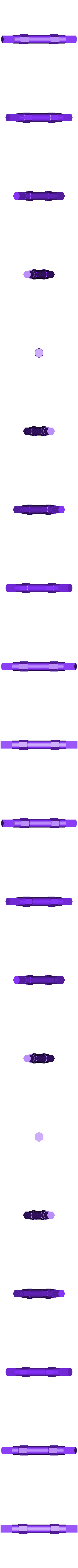 Axle_Rear.stl Télécharger fichier STL gratuit Tabletop Tri-Mode Spring Motor Rolling Chassis • Design pour imprimante 3D, gzumwalt