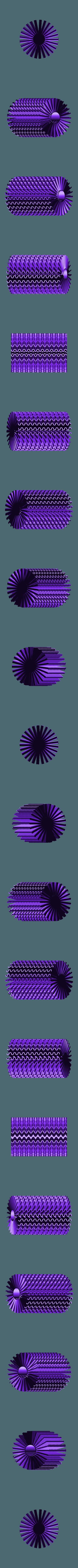 """soliflor ondulation.stl Download STL file Corals"""" series 3dgregor • 3D printable object, 3dgregor"""