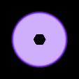 "Spool_Center.stl Download free STL file String ""Climbing"" Ball • 3D printing design, gzumwalt"