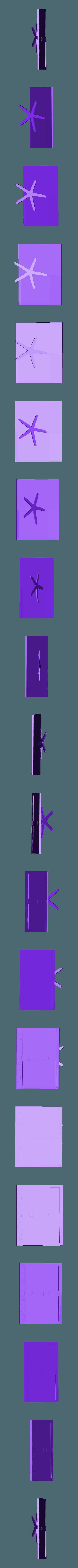 Porta Foto per HP decorato con supporto stella.stl Download free STL file Cute Summer Edition Frame • 3D printing object, CamiSantoro