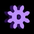 Gear_Motor.stl Download free STL file Lighted Motorized Halloween Pumpkin Bracelet • Object to 3D print, gzumwalt