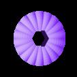 Lid_Pumpkin.stl Download free STL file Lighted Motorized Halloween Pumpkin Bracelet • Object to 3D print, gzumwalt