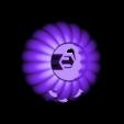 Base_Pumpkin_Lighted.stl Download free STL file Lighted Motorized Halloween Pumpkin Bracelet • Object to 3D print, gzumwalt
