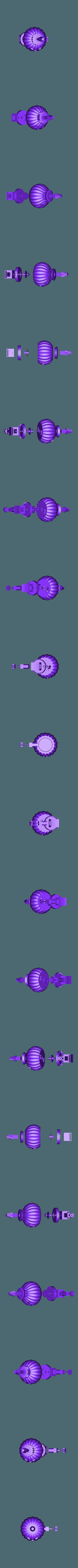 Assembly_Lighted.stl Download free STL file Lighted Motorized Halloween Pumpkin Bracelet • Object to 3D print, gzumwalt