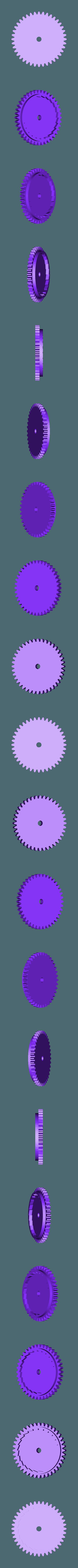 Gear_Spring.stl Download free STL file Windup Bunny • 3D printing design, gzumwalt