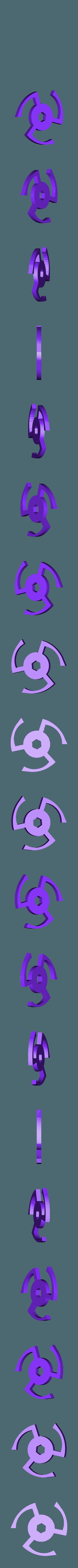 Pawl.stl Download free STL file Windup Bunny • 3D printing design, gzumwalt