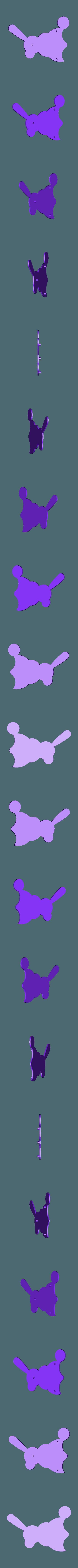 Body_Left_Solid.stl Download free STL file Windup Bunny • 3D printing design, gzumwalt