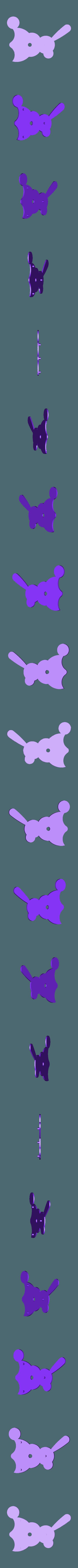 Body_Right_Solid.stl Download free STL file Windup Bunny • 3D printing design, gzumwalt