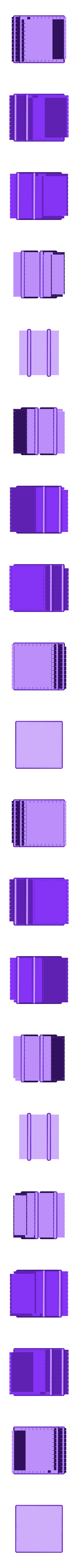 Box_Short.stl Télécharger fichier STL gratuit Une simple boîte secrète • Objet imprimable en 3D, gzumwalt