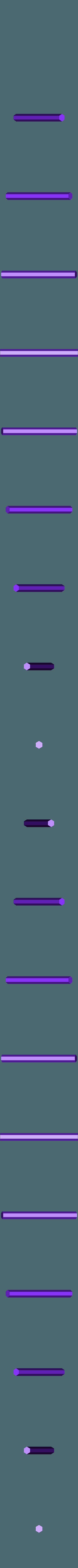 Axle_Main.stl Télécharger fichier STL gratuit Hélicoptère Pull, Push, Downhill Toy 2 • Design pour imprimante 3D, gzumwalt
