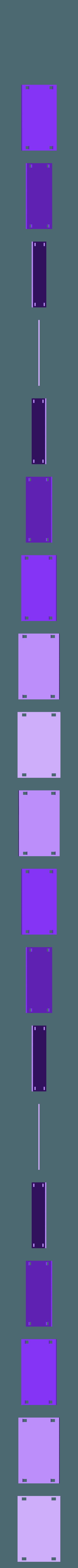 "Slide_Bottom_Inner.stl Download free STL file ""Pencil"" Puzzler • 3D printing design, gzumwalt"