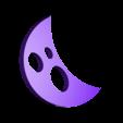 Moon.stl Download free STL file Visions of Halloween Danced In Her (His) Head, Hand Cranked • 3D printing model, gzumwalt