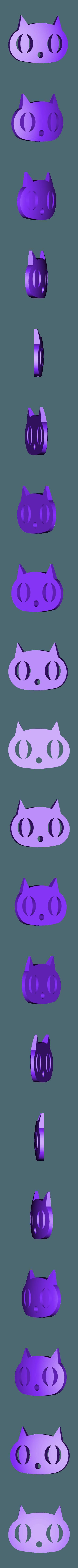 Cat.stl Download free STL file Visions of Halloween Danced In Her (His) Head, Hand Cranked • 3D printing model, gzumwalt