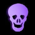 Skull.stl Download free STL file Visions of Halloween Danced In Her (His) Head, Hand Cranked • 3D printing model, gzumwalt
