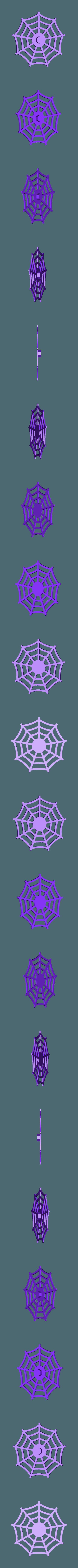 Web.stl Download free STL file Visions of Halloween Danced In Her (His) Head, Motorized • 3D printing template, gzumwalt