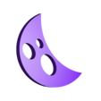 Moon.stl Download free STL file Visions of Halloween Danced In Her (His) Head, Motorized • 3D printing template, gzumwalt