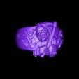 reaper.stl Download free STL file Reaper ring • 3D printer template, Janusz