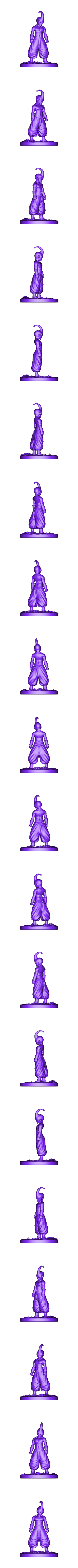 Buu_Figurine.stl Download OBJ file Kid Buu Dragon Ball Z • 3D print model, Ben_M