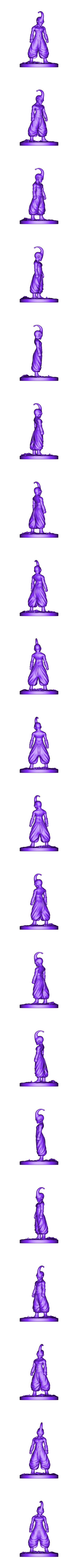 Buu_Figurine.obj Download OBJ file Kid Buu Dragon Ball Z • 3D print model, Ben_M