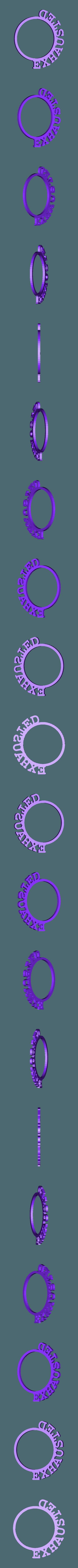 LRingExhausted.stl Download STL file D&D Condition Rings • 3D printable design, Jinja