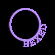 LRingHexed.stl Download STL file D&D Condition Rings • 3D printable design, Jinja