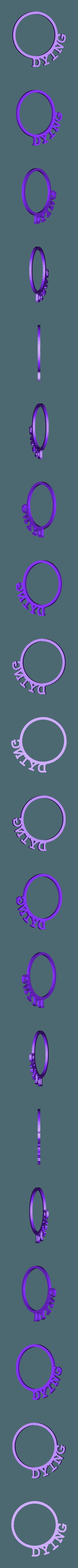 LRingDying.stl Download STL file D&D Condition Rings • 3D printable design, Jinja